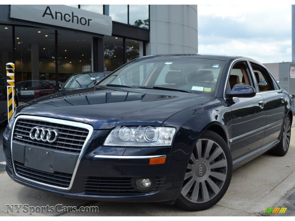 2006 Audi A8 L 4 2 Quattro In Night Blue Pearl Effect