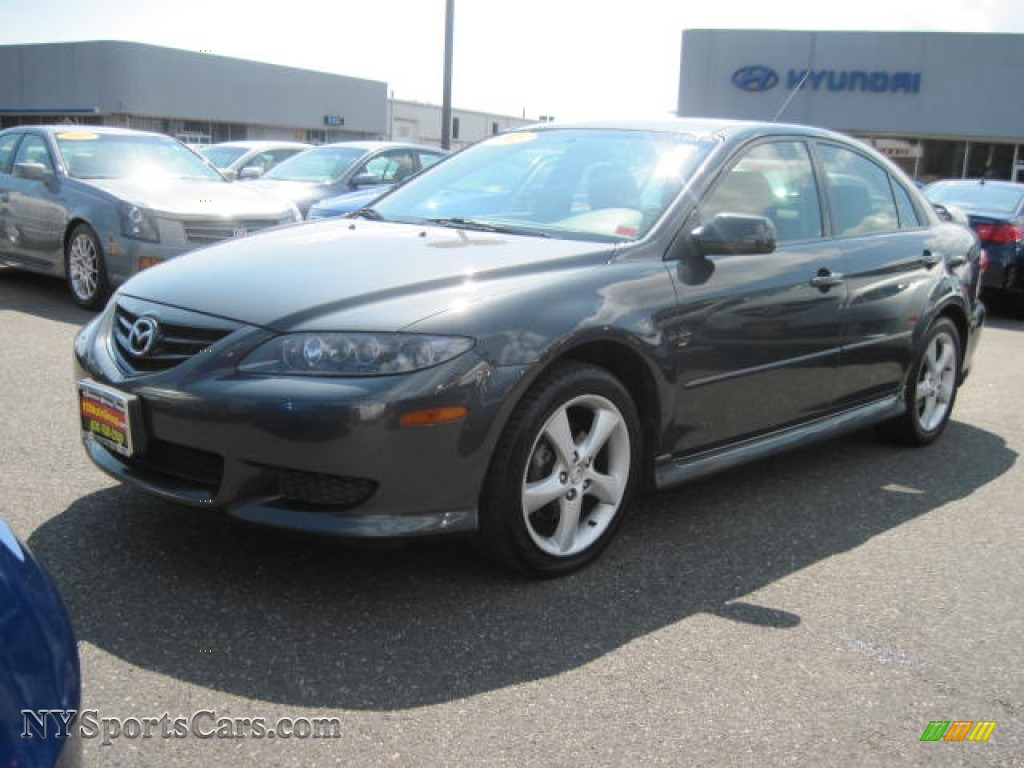 2005 mazda mazda6 i sport hatchback in steel gray metallic m09318 cars. Black Bedroom Furniture Sets. Home Design Ideas