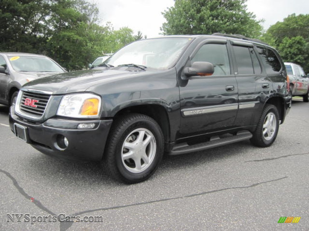 2003 gmc envoy slt 4x4 in carbon metallic 145602. Black Bedroom Furniture Sets. Home Design Ideas