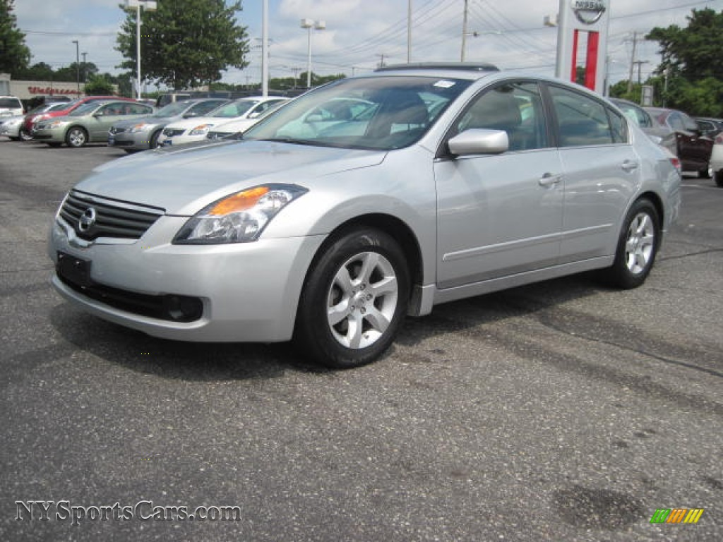 2008 Nissan Altima 2 5 Sl In Radiant Silver Metallic