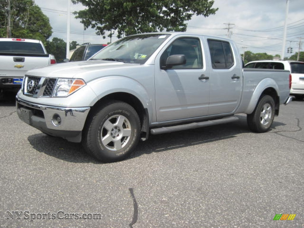 2008 Nissan Frontier Se Crew Cab 4x4 In Radiant Silver