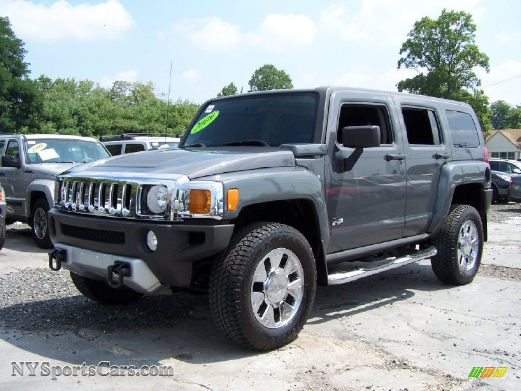 2009 Hummer H3 X In Graphite Metallic 118437