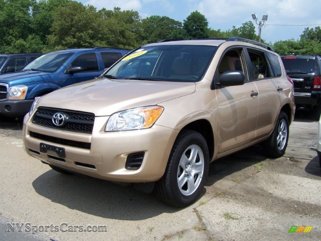 2010 Toyota Rav4 I4 4wd In Sandy Beach Metallic 037364