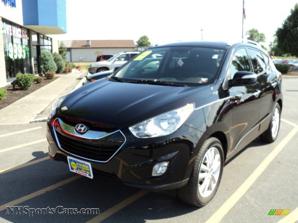 2011 Hyundai Tucson Limited In Ash Black Photo 31