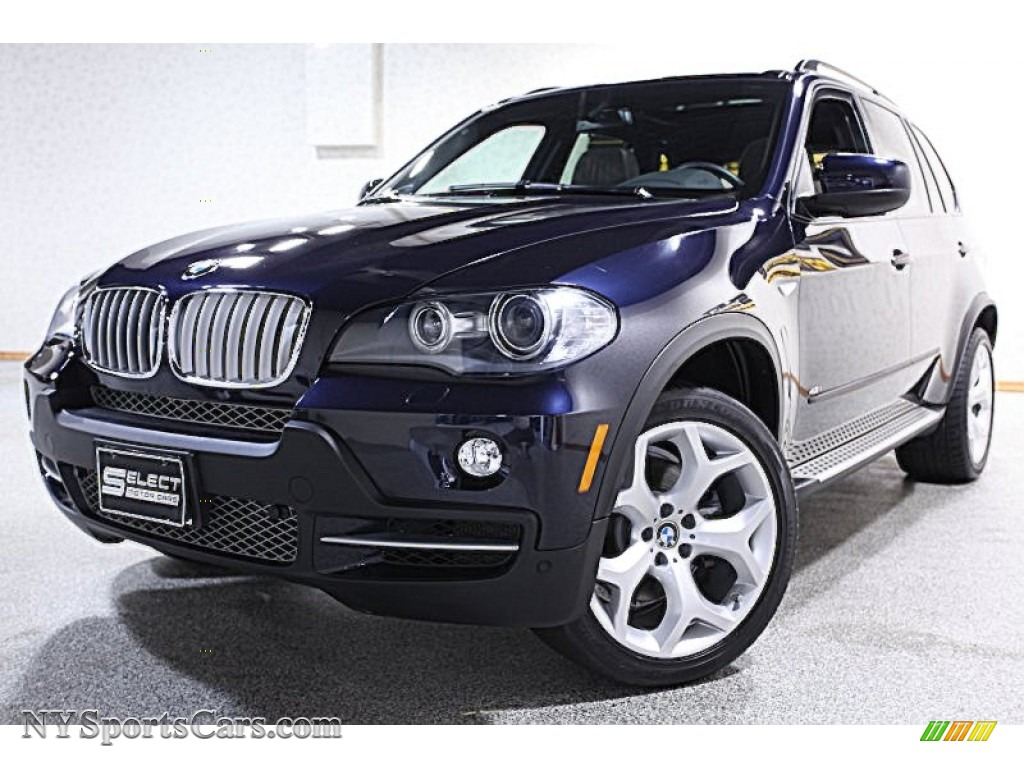2008 bmw x5 in monaco blue metallic 168013 cars for sale in new york. Black Bedroom Furniture Sets. Home Design Ideas