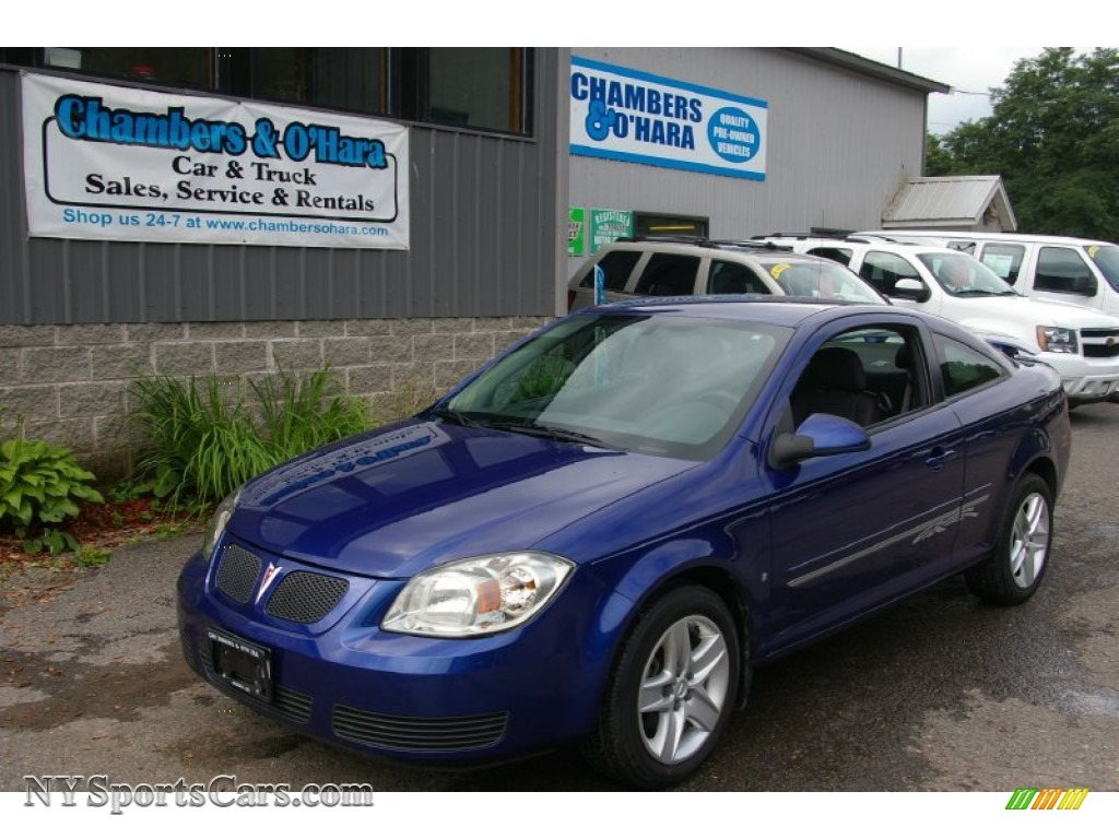 2007 pontiac g5 in nitrous blue 168658 nysportscars. Black Bedroom Furniture Sets. Home Design Ideas