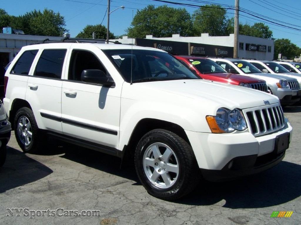 2008 Jeep Grand Cherokee Laredo 4x4 In Stone White Photo