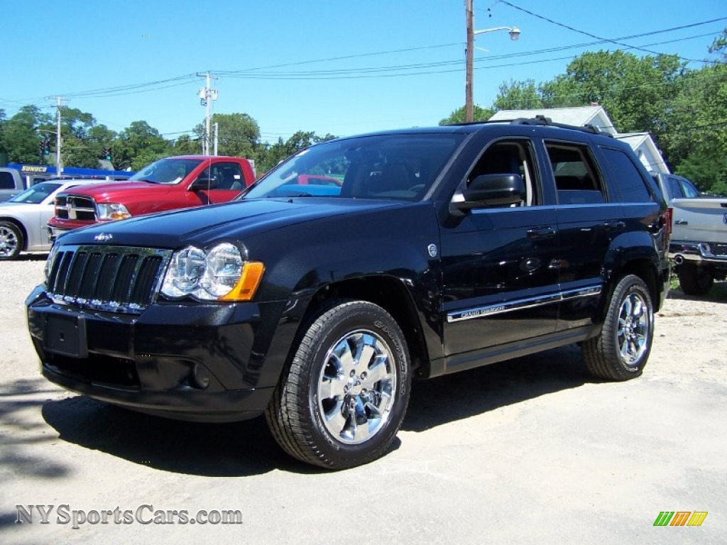 2009 jeep grand cherokee limited 4x4 in brilliant black crystal