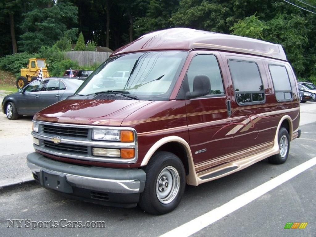 1998 Chevrolet Chevy Van G10 Passenger Conversion In Dark