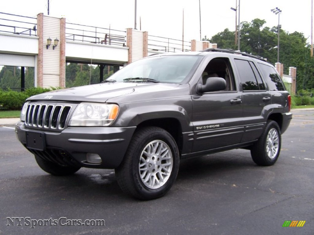 2003 jeep grand cherokee limited in graphite metallic 615147 nysportscars com cars for sale in new york nysportscars com
