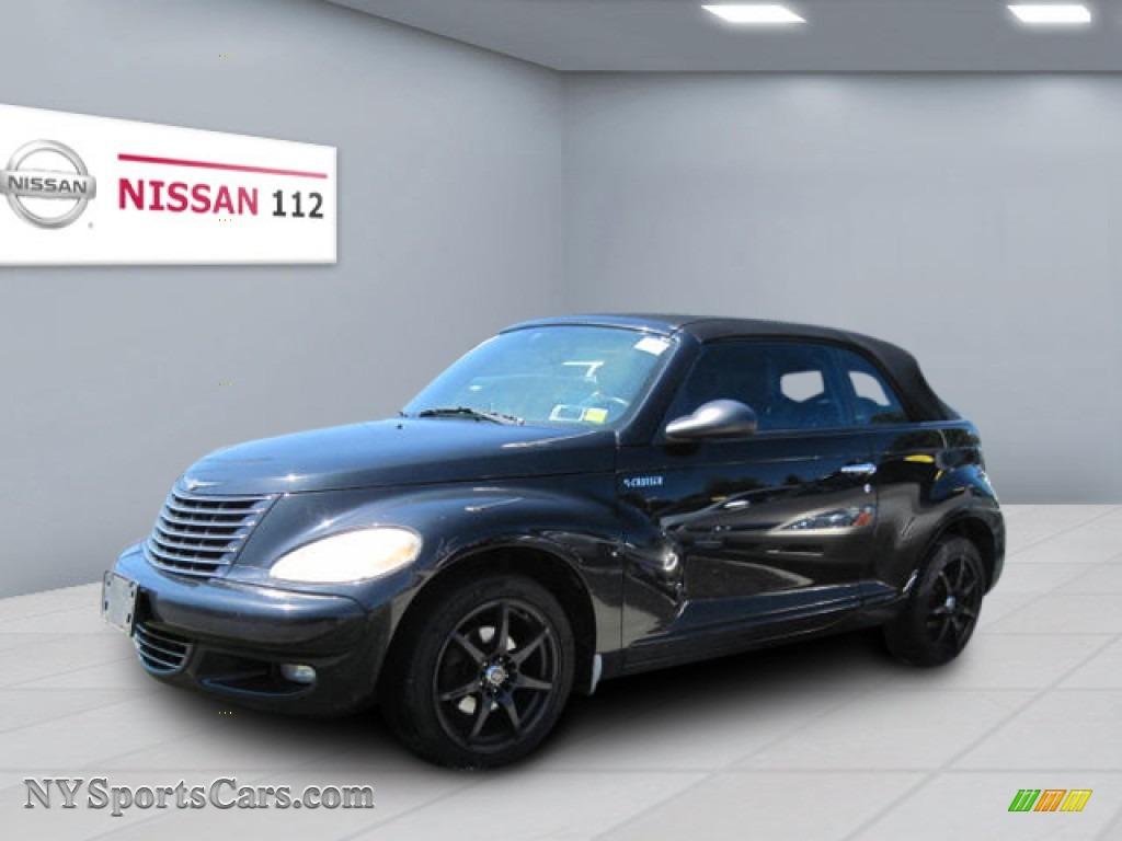 2005 Chrysler Pt Cruiser Gt Convertible In Black 524192