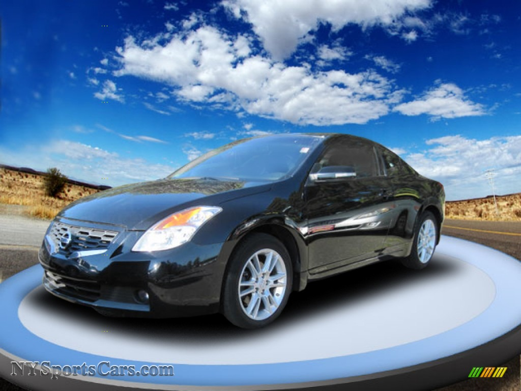 2008 Nissan Altima 3 5 Se Coupe In Super Black 148905