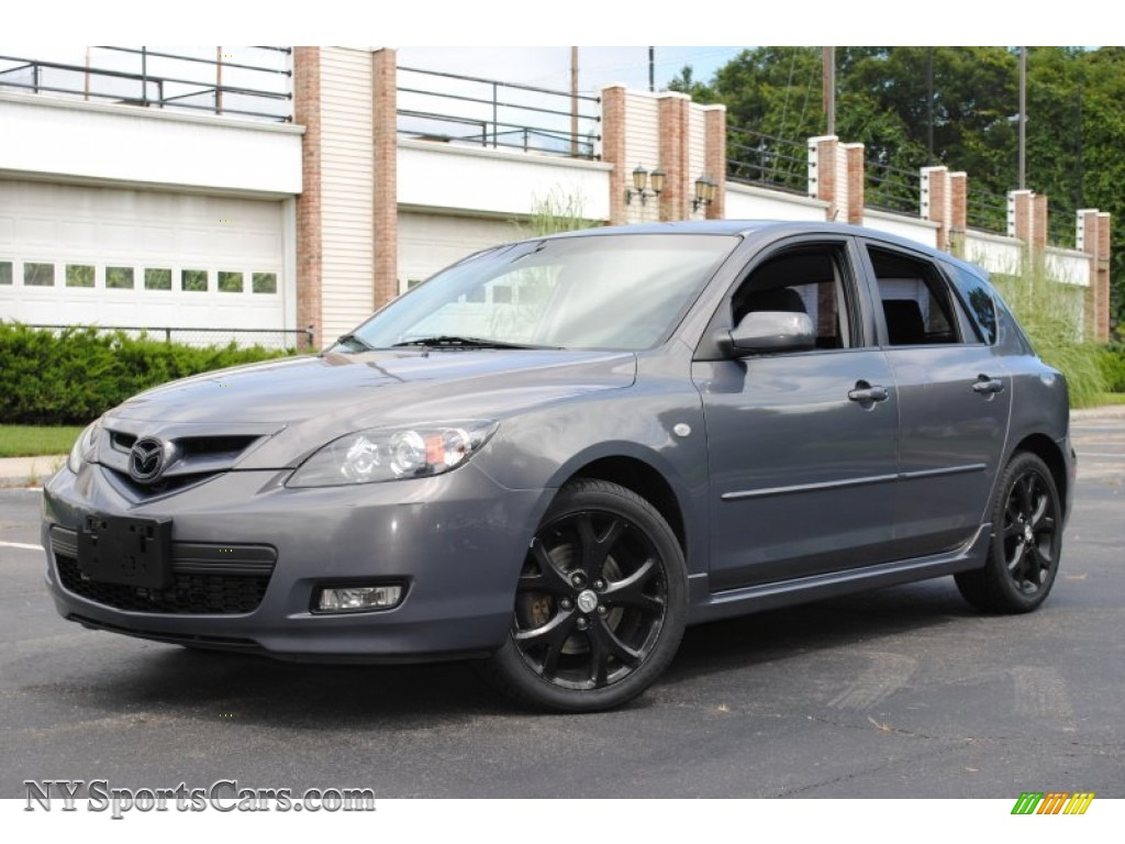 2007 mazda mazda3 s sport hatchback in galaxy gray mica 641543 cars for. Black Bedroom Furniture Sets. Home Design Ideas