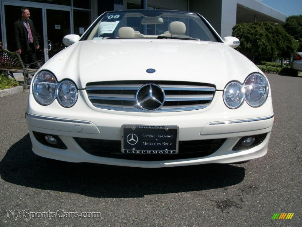 2009 mercedes benz clk 350 cabriolet in arctic white photo for 2009 mercedes benz clk350 for sale
