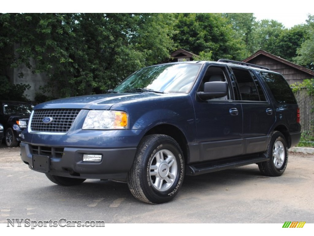 2005 expedition xlt 4x4 medium wedgewood blue medium flint grey photo 1