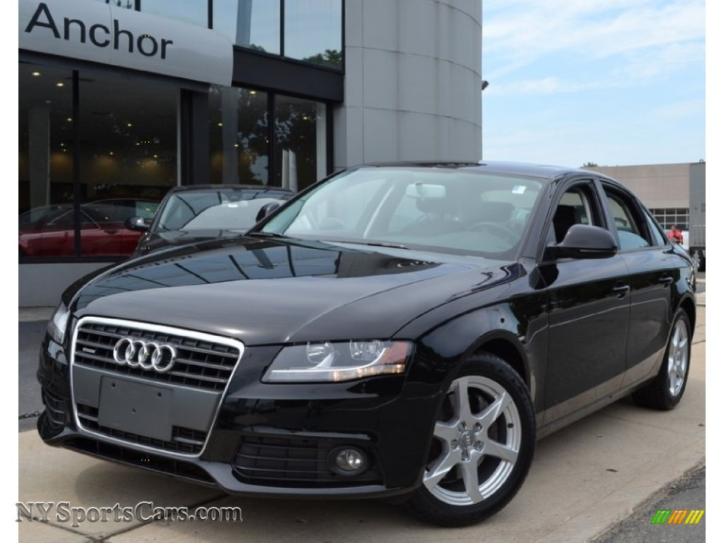2009 Audi A4 2.0T Premium quattro Sedan in Brilliant Black ...