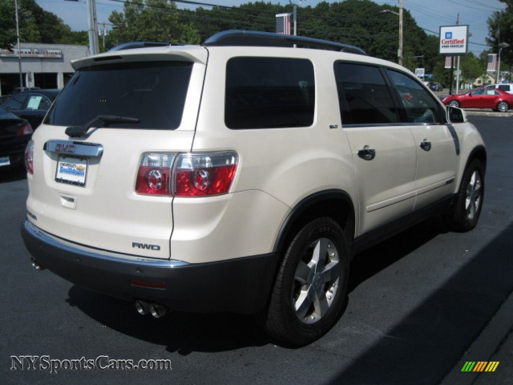 2008 gmc acadia slt awd in summit white photo 4 139091 cars for sale in. Black Bedroom Furniture Sets. Home Design Ideas