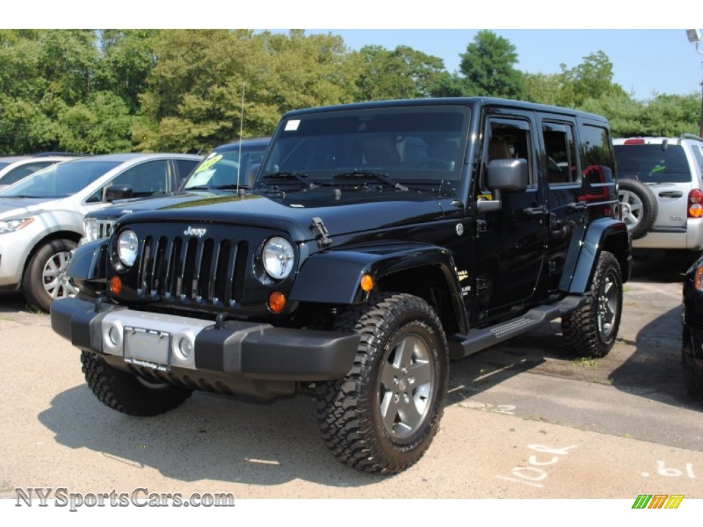 2011 jeep wrangler unlimited sahara 4x4 in black 557136 cars for sale in. Black Bedroom Furniture Sets. Home Design Ideas