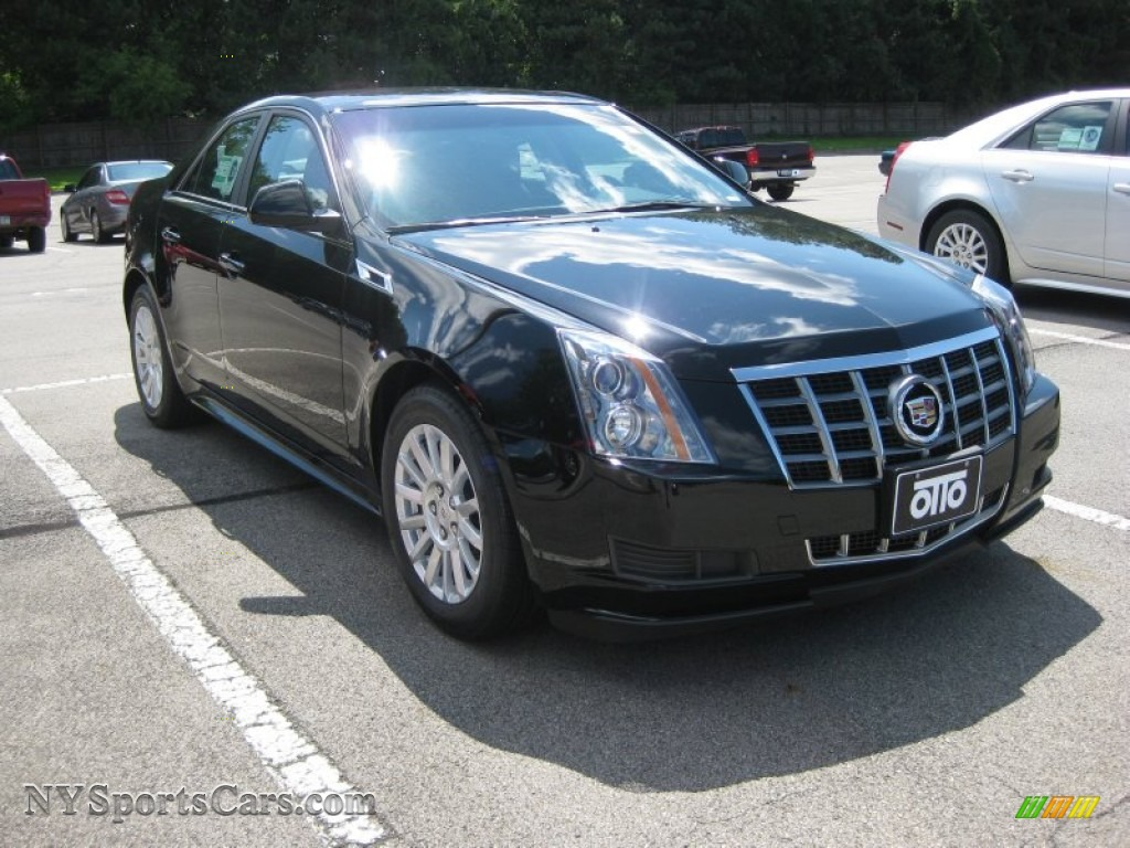 2012 cadillac cts 3 0 sedan in black raven 100976 cars for sale in new york. Black Bedroom Furniture Sets. Home Design Ideas