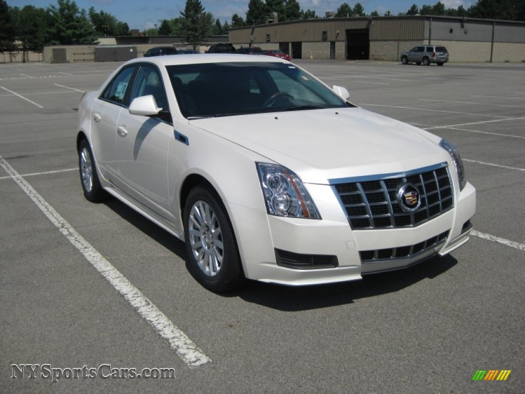 2012 Cadillac Cts 4 3 0 Awd Sedan In White Diamond Tricoat