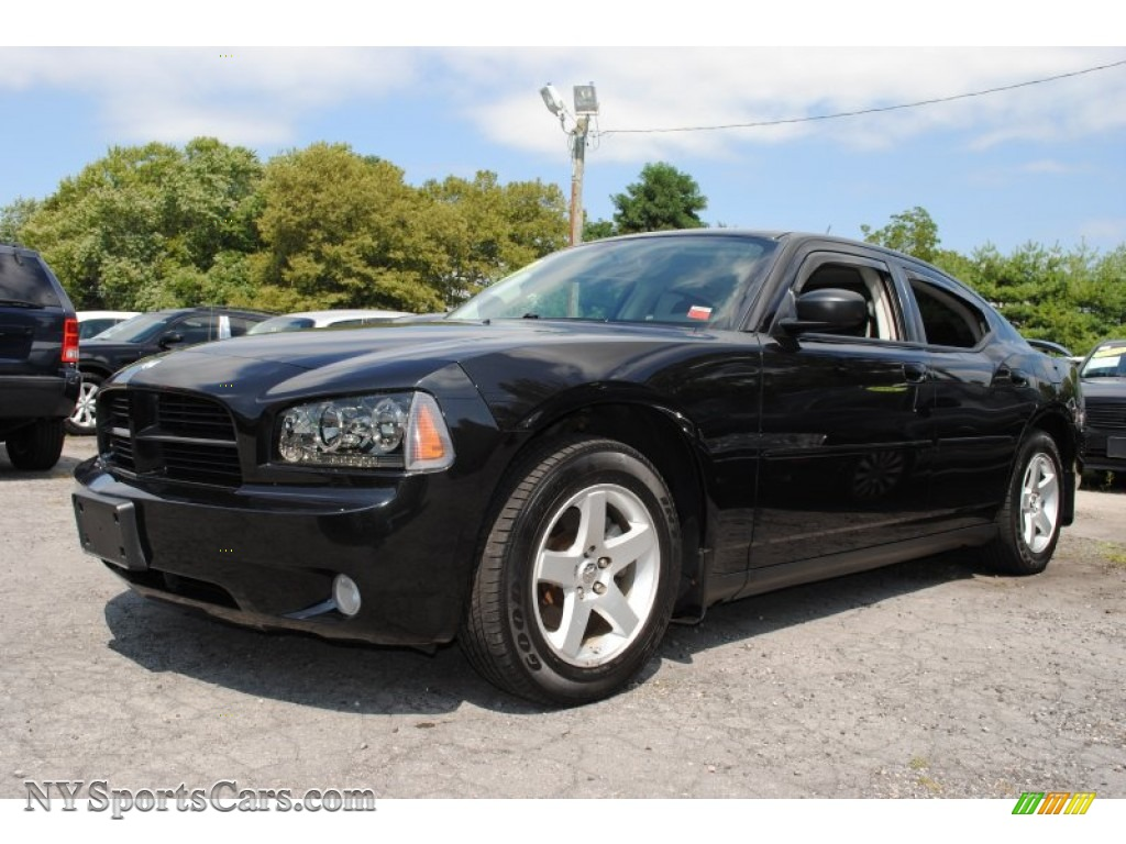 2008 Dodge Charger Se In Brilliant Black Crystal Pearl