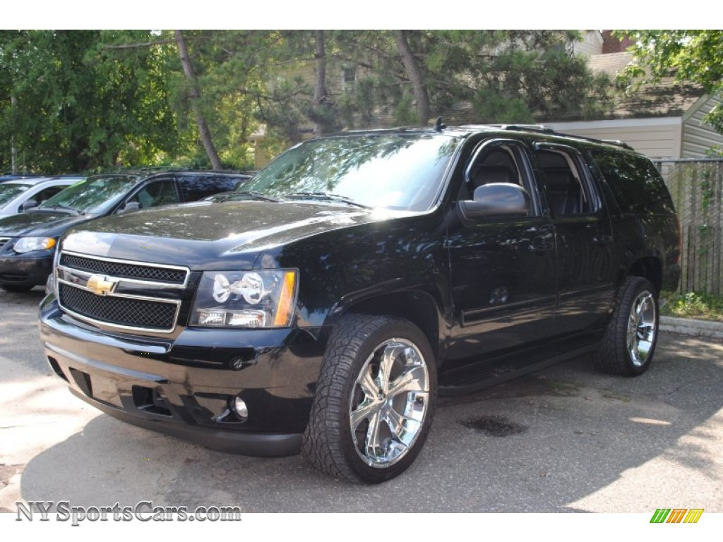 2009 chevrolet suburban lt 4x4 in black 235900. Black Bedroom Furniture Sets. Home Design Ideas
