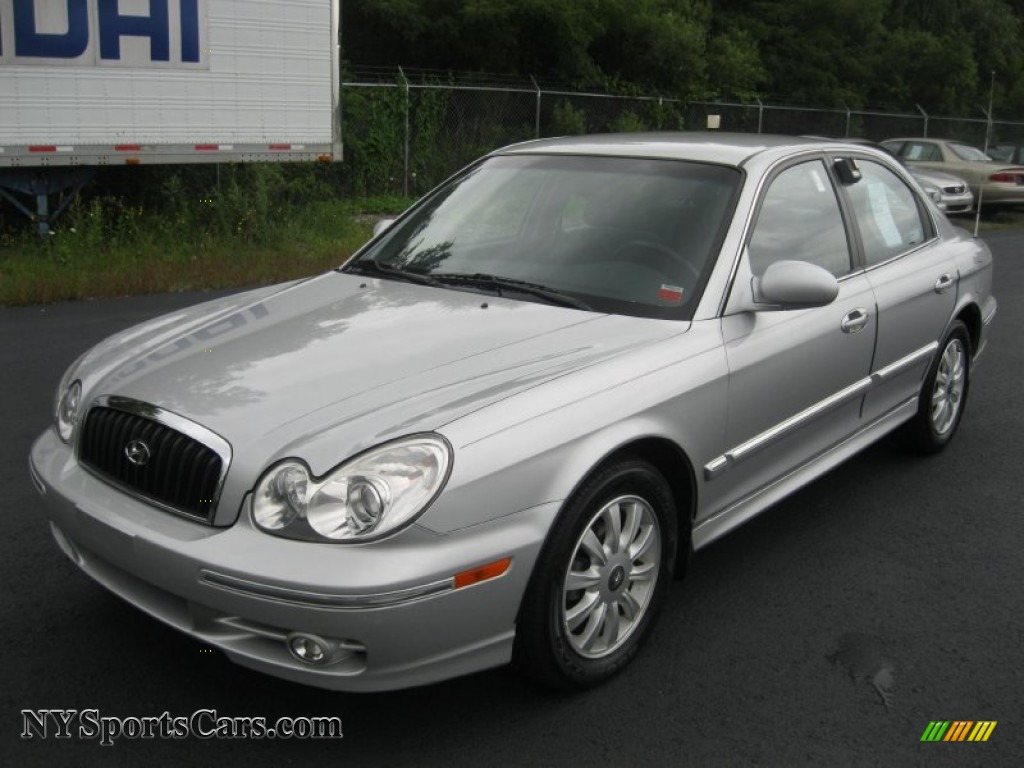 2003 Hyundai Sonata Gls V6 In Brilliant Silver Metallic