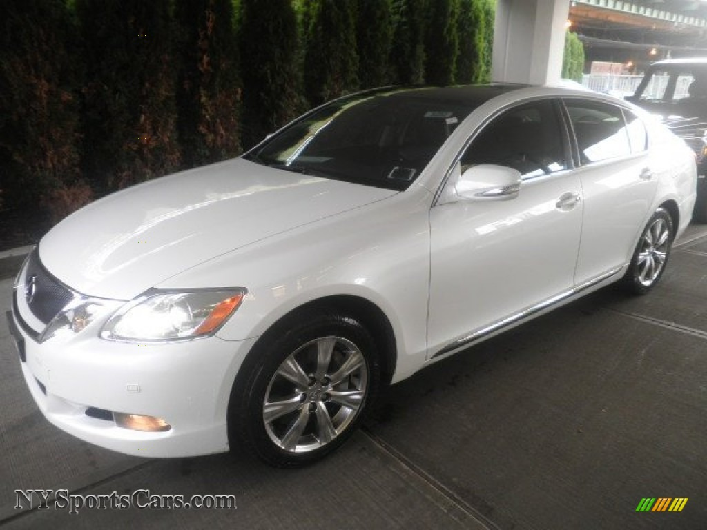 2008 Lexus GS 350 AWD In Starfire White Pearl 019879