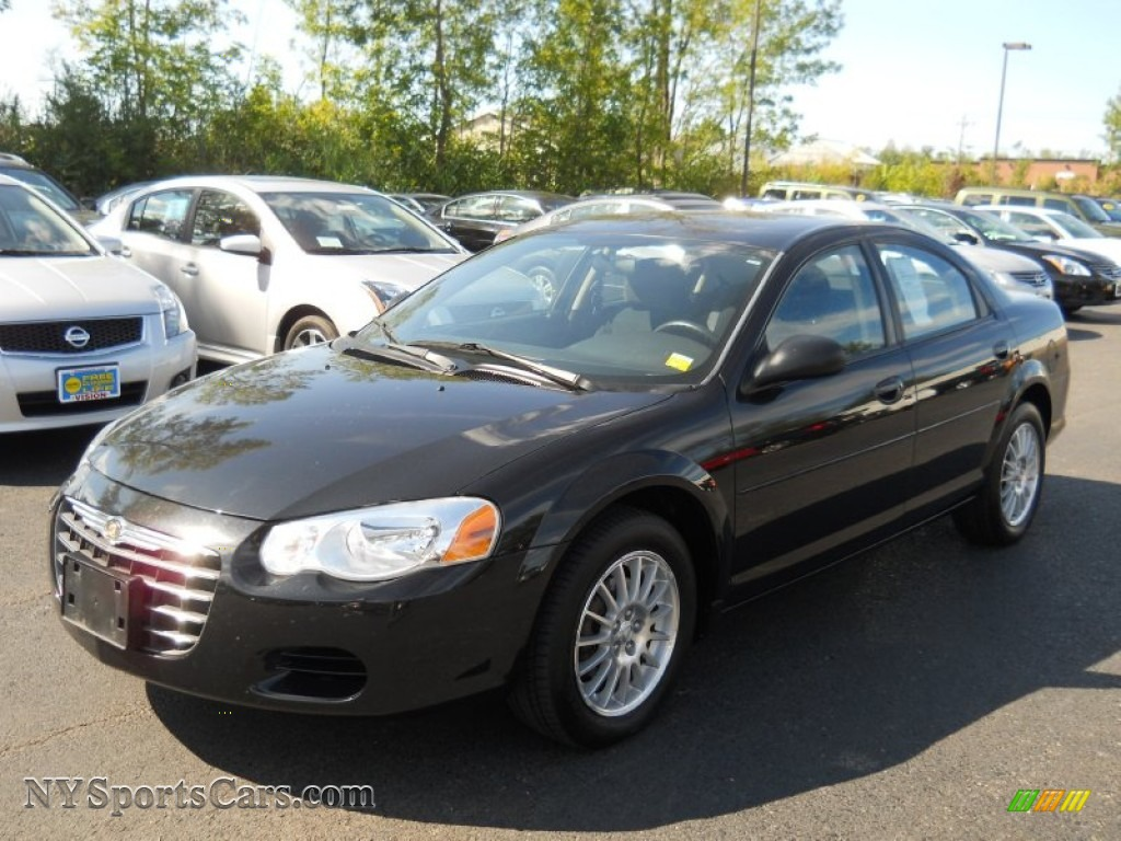 2004 chrysler sebring lx sedan in brilliant black crystal. Black Bedroom Furniture Sets. Home Design Ideas