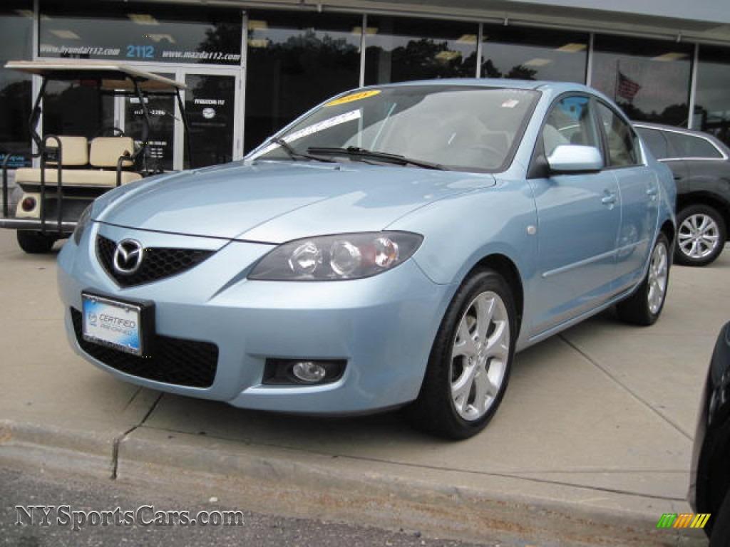 2008 Mazda Mazda3 I Touring Sedan In Icy Blue Metallic