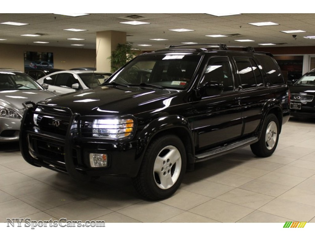 2001 infiniti qx4 4x4 in black obsidian 223438 cars for sale in new york. Black Bedroom Furniture Sets. Home Design Ideas