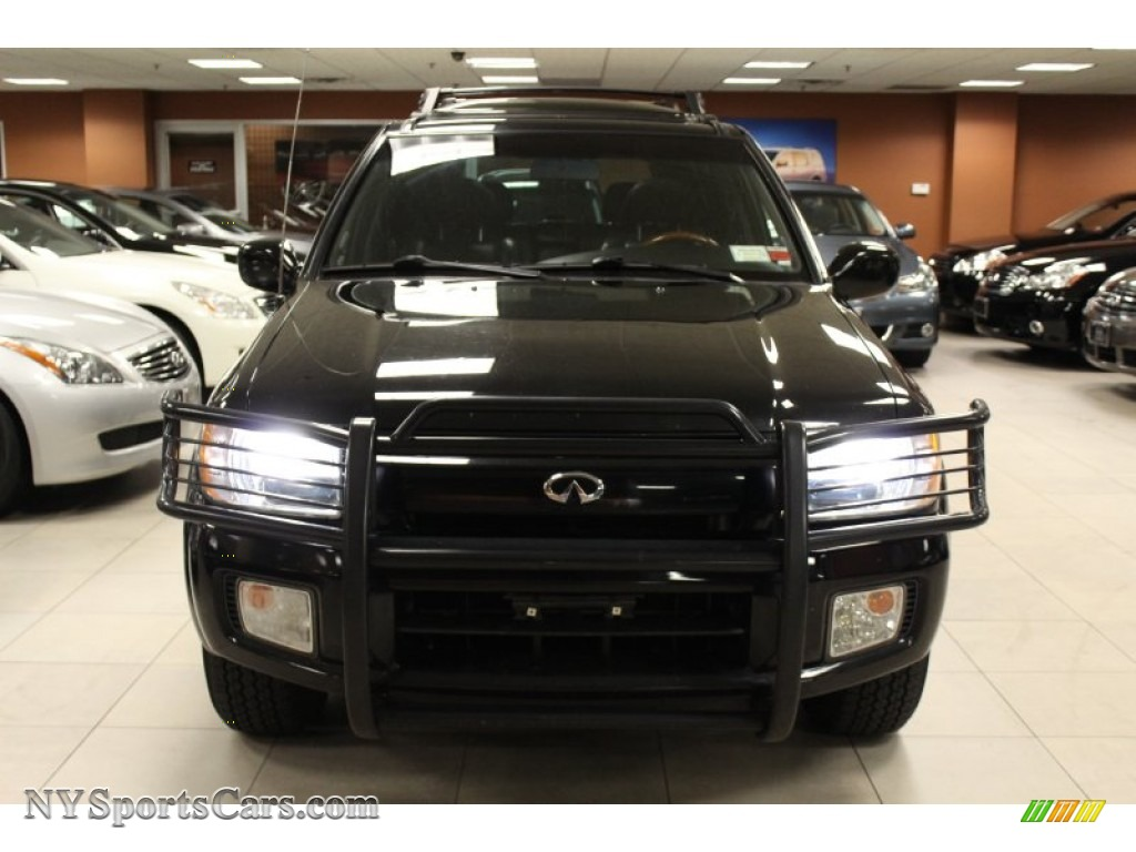 2001 infiniti qx4 4x4 in black obsidian photo 2 223438 cars for sale in. Black Bedroom Furniture Sets. Home Design Ideas