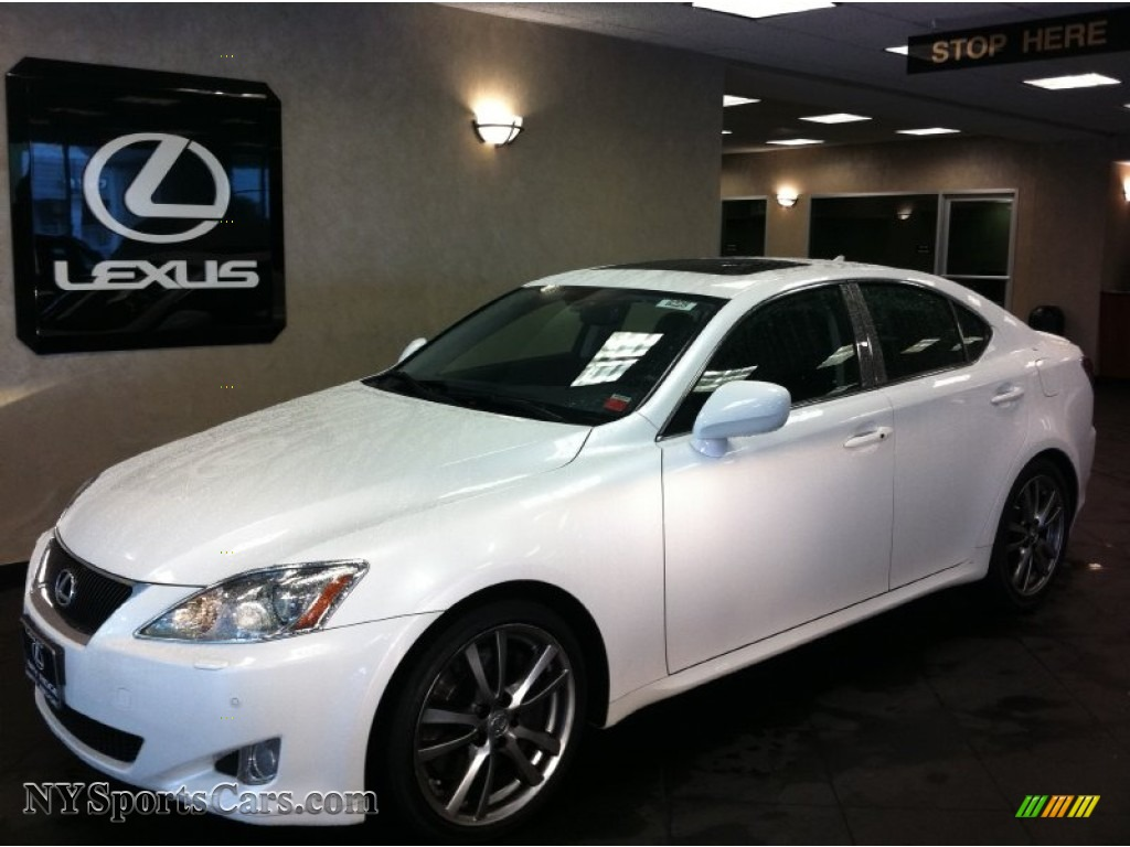 2008 lexus is 350 in starfire white pearl 021074 cars for sale in new york. Black Bedroom Furniture Sets. Home Design Ideas