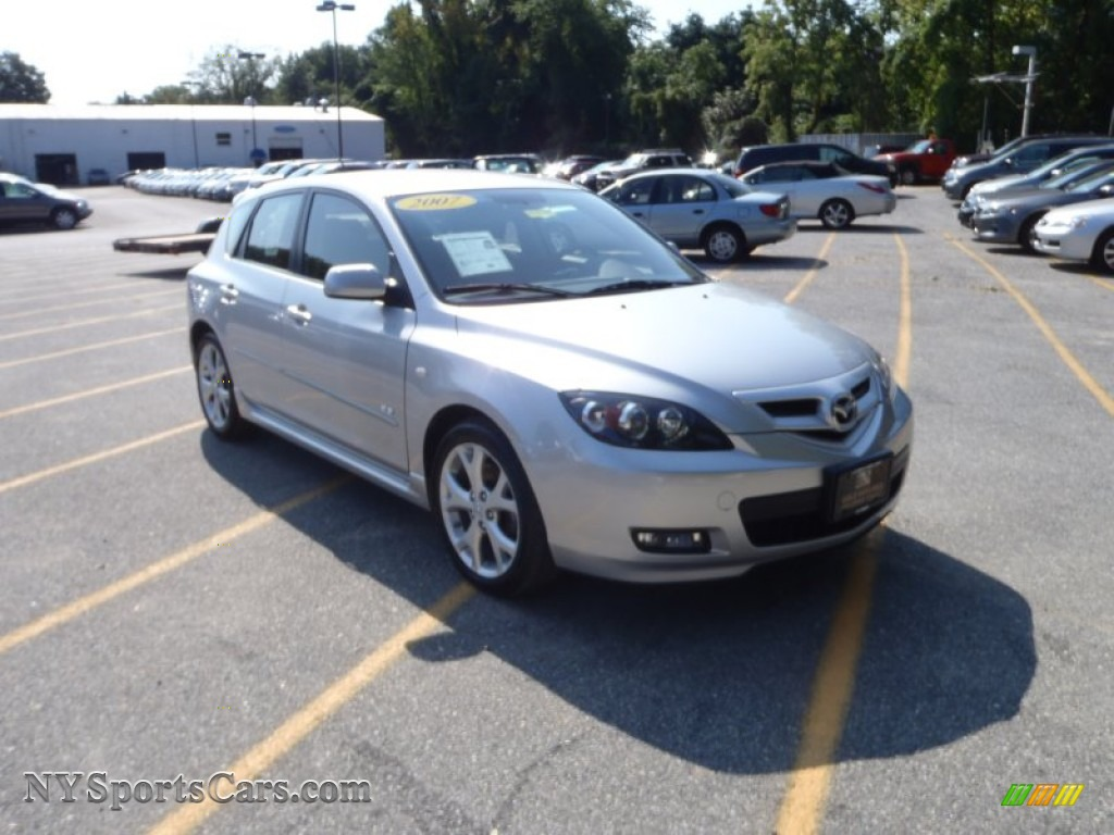 2007 mazda mazda3 s touring hatchback in sunlight silver. Black Bedroom Furniture Sets. Home Design Ideas