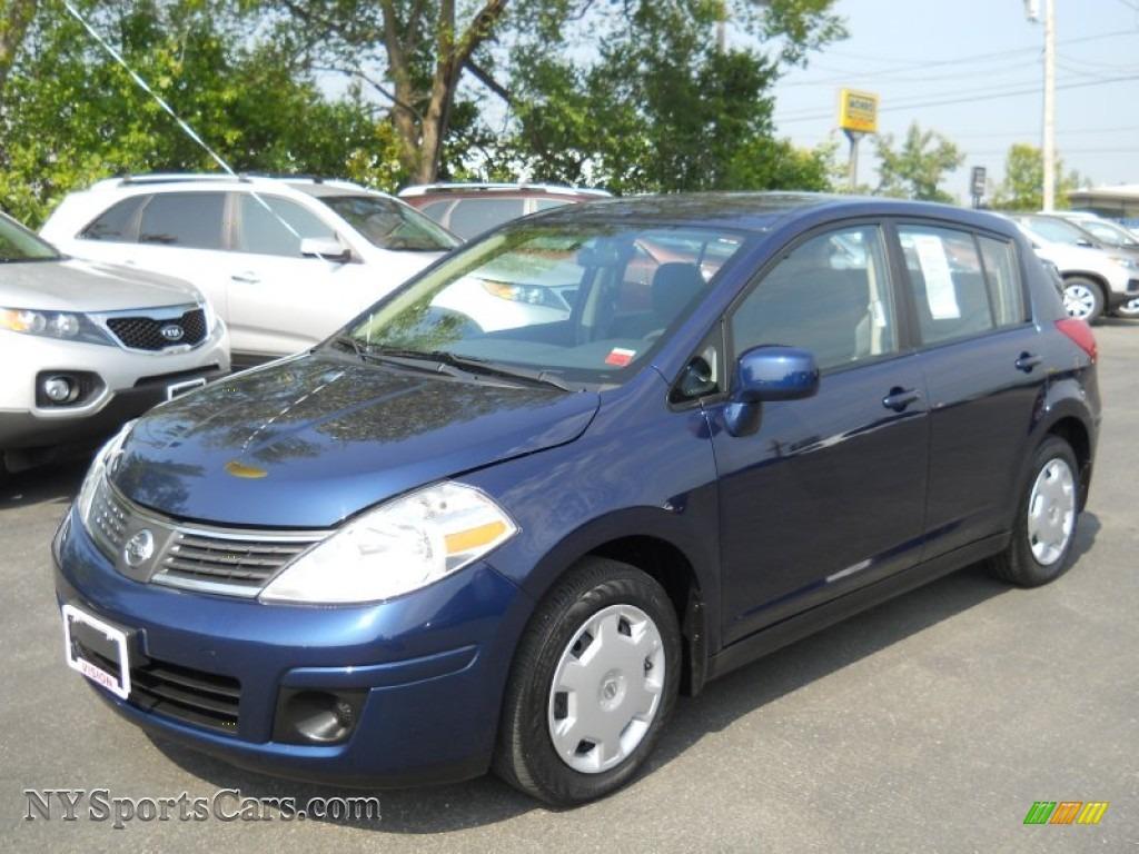 2008 Nissan Versa 1.8 S Hatchback in Blue Onyx - 424425 ...