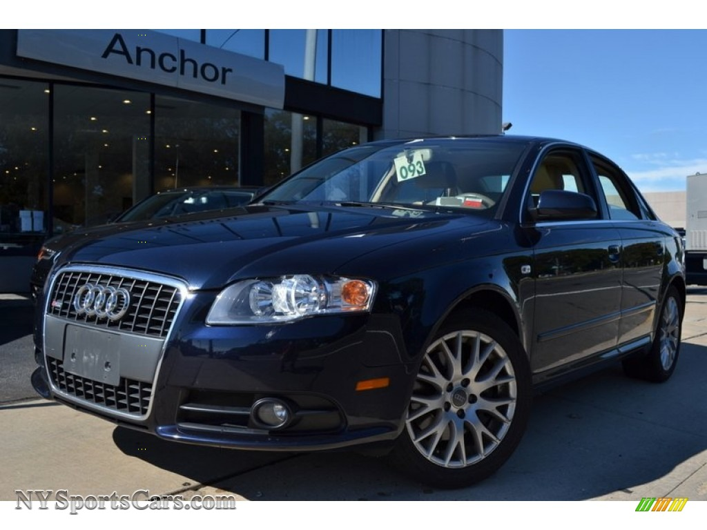 2008 Audi A4 2 0t Quattro S Line Sedan In Deep Sea Blue