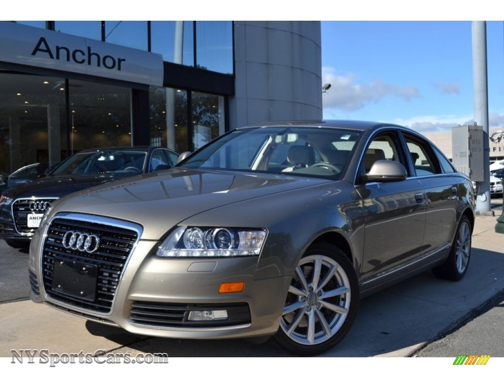 2009 audi a6 3 0t quattro sedan in dakar beige metallic. Black Bedroom Furniture Sets. Home Design Ideas