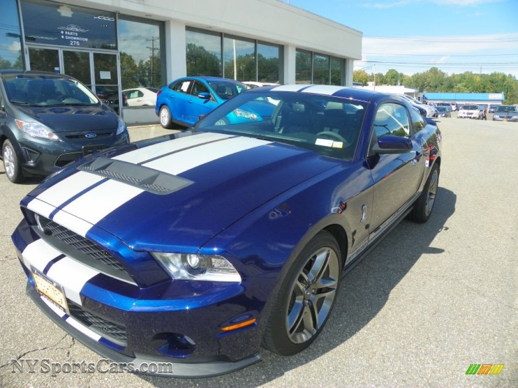 2011 ford mustang shelby gt500 coupe in kona blue metallic photo 2 113985. Black Bedroom Furniture Sets. Home Design Ideas