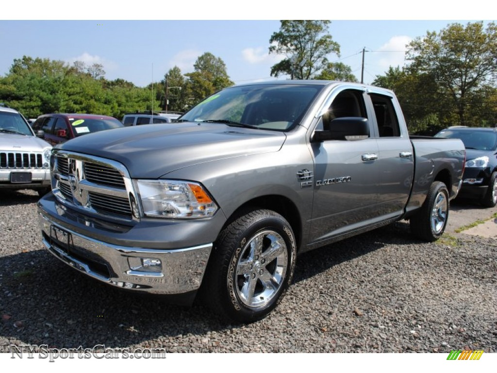 2011 dodge ram 1500 big horn quad cab 4x4 in mineral gray metallic 509040. Black Bedroom Furniture Sets. Home Design Ideas