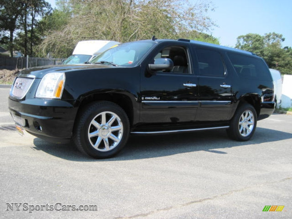 2007 gmc yukon xl denali awd in onyx black 303762 cars for sale in new york. Black Bedroom Furniture Sets. Home Design Ideas