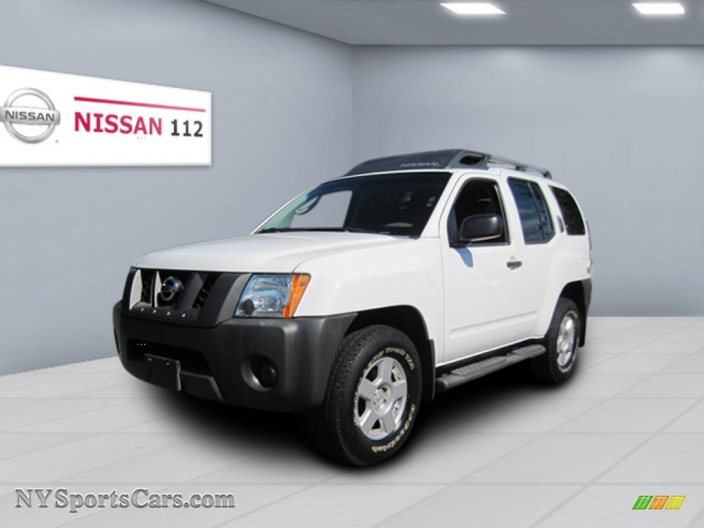 2008 nissan xterra s 4x4 in avalanche white 531923 cars for sale in new york. Black Bedroom Furniture Sets. Home Design Ideas