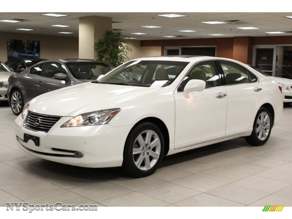 2007 ES 350   Crystal White / Cashmere Photo #1