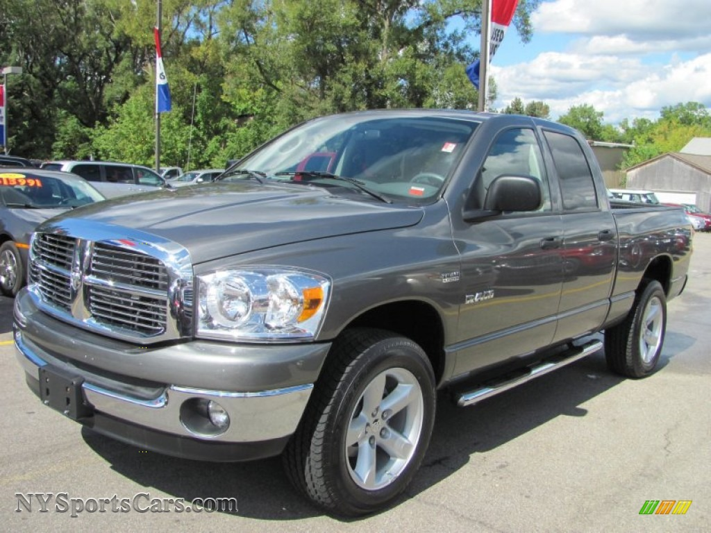 2008 dodge ram 1500 big horn edition quad cab 4x4 in bright silver metallic 525162. Black Bedroom Furniture Sets. Home Design Ideas