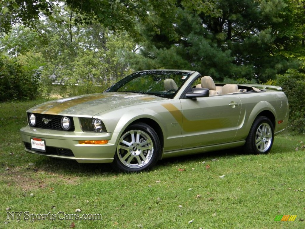 2006 Ford Mustang Gt Premium Convertible In Legend Lime