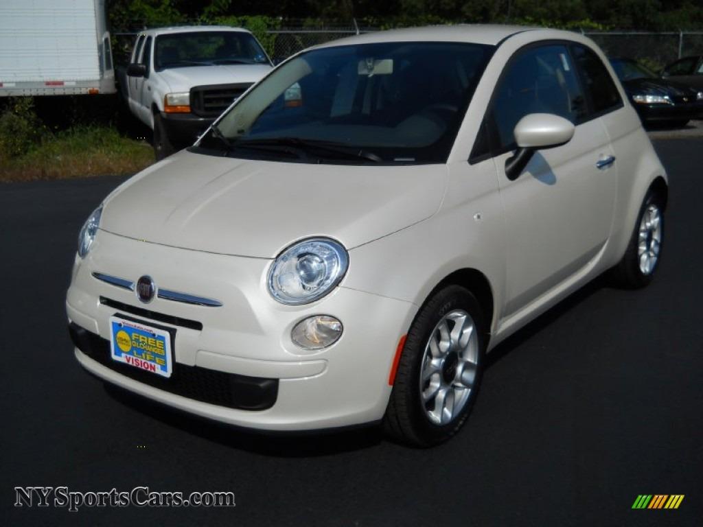 2012 Fiat 500 Pop In Bianco Perla Pearl White 103782