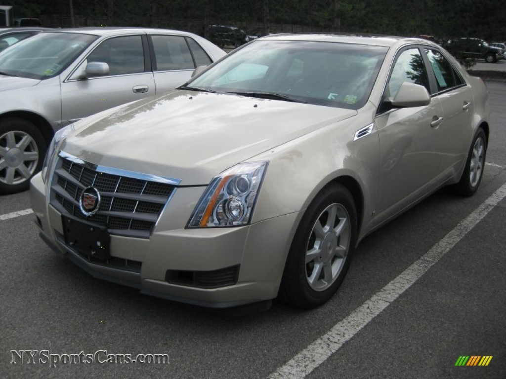 2009 cadillac cts 4 awd sedan in gold mist 131092 cars for sale in new york. Black Bedroom Furniture Sets. Home Design Ideas