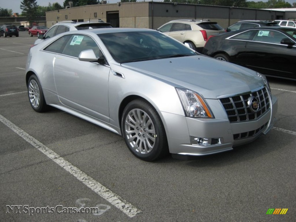 2012 Cadillac Cts 4 Awd Coupe In Radiant Silver Metallic