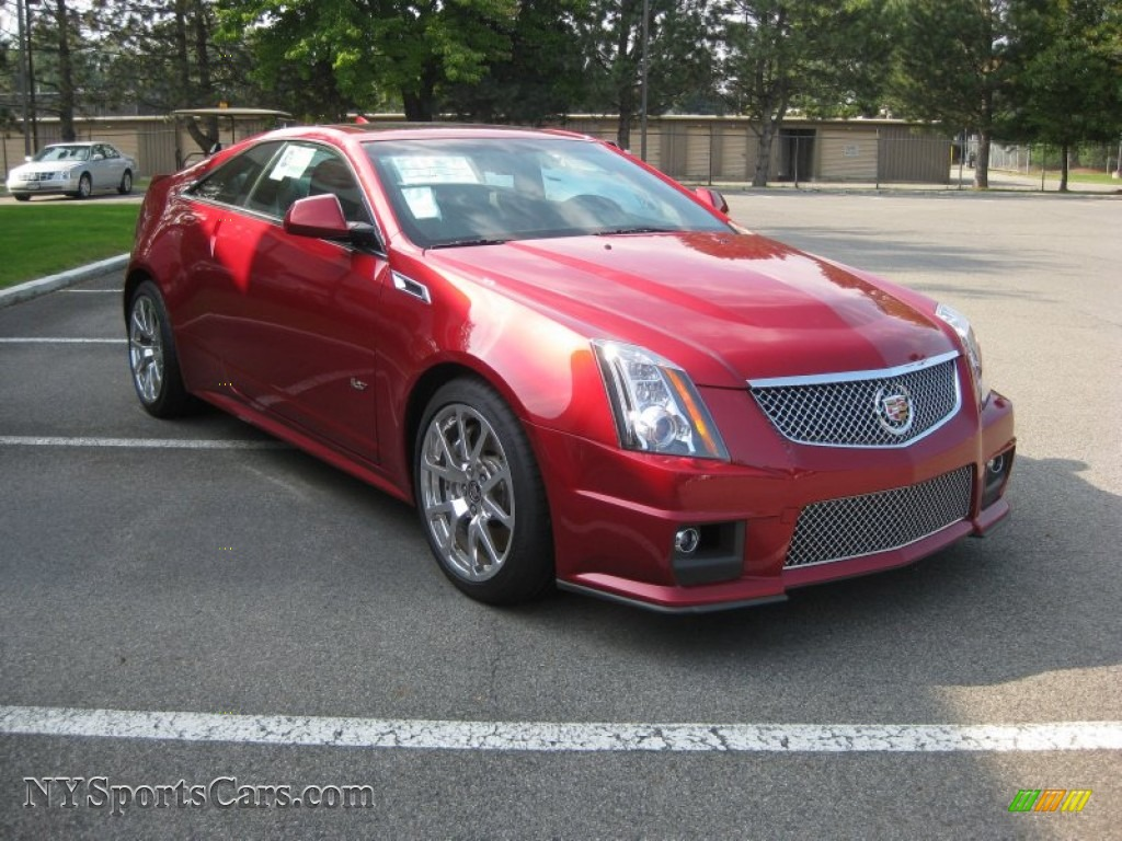 Central Buick Gmc >> 2011 Cadillac CTS -V Coupe in Crystal Red Tintcoat - 125743 | NYSportsCars.com - Cars for sale ...