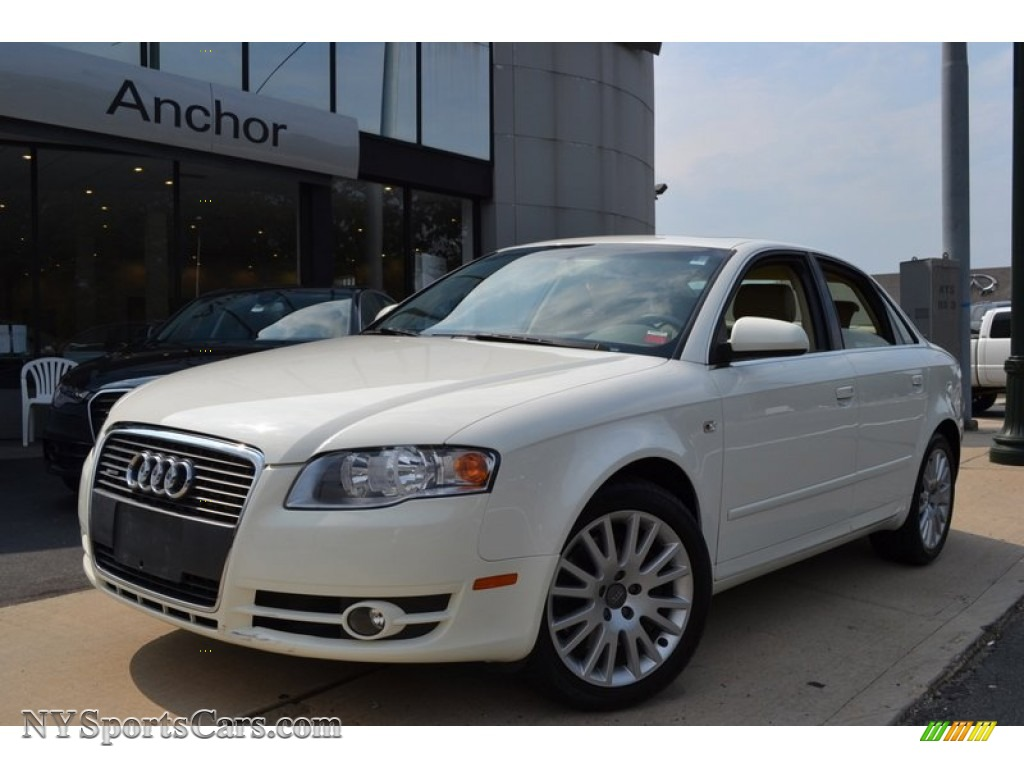 2006 audi a4 2 0t quattro sedan in arctic white 261611 cars for sale in. Black Bedroom Furniture Sets. Home Design Ideas