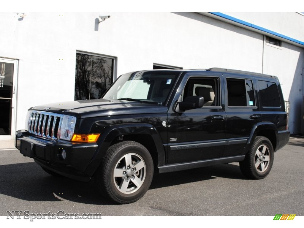 2008 Jeep Commander Rocky Mountain Edition 4x4 In Brilliant Black Crystal Pearl 170939
